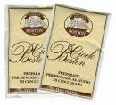 Uvnitř balení je čokoláda balená po jednotlivých porcích, což následně při přípravě garantuje její kvalitu.